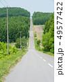 風景 道 道路の写真 49577422