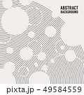Abstract Monochrome Background Vector Illustration 49584559