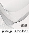 Abstract Monochrome Background Technology Vector 49584562