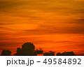 colorful sunset orange cloud and sun on sky 49584892