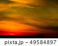 blurred sunset heap cloud in tropical red orange 49584897
