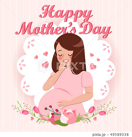 happy mothers day greeting card 49589338