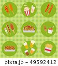 イベント・お祭りの食べ物メニュー 49592412