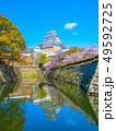 春爛漫の姫路城 49592725