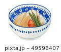 筍の炊き合わせ 炊き合わせ 煮物のイラスト 49596407