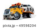 ベクトル トラック けん引のイラスト 49598204
