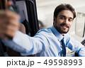 自動車 バス ビジネスの写真 49598993