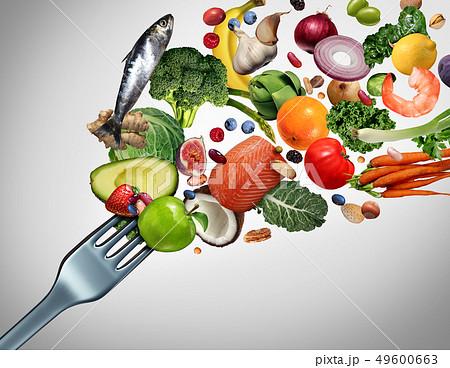Eating Healthy Food 49600663