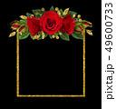 花 バラ 金の写真 49600733