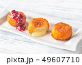 Camembert nuggets with cranberry sauce 49607710