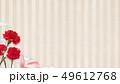 背景-カーネーション-母の日-ベージュ-ストライプ 49612768