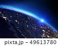 惑星 地球 マップのイラスト 49613780
