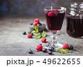 Fresh berry drink 49622655