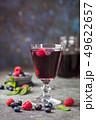 Fresh berry drink 49622657