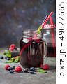 Fresh berry drink 49622665