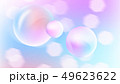 Gentle spring abstraction with beautiful bubbles and bokeh effect, romantic and lovely background 49623622