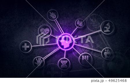 Social media communication 49625468