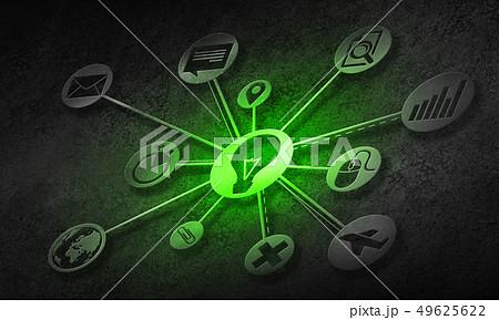 Social media communication 49625622