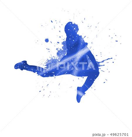 Dancer silhouette 49625701