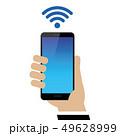 スマートフォン フォン 電話のイラスト 49628999