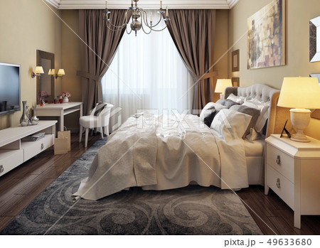 Bedroom classical style 49633680