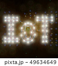 IoTの文字 49634649