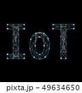 IoTの文字 49634650