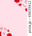 背景-バラ-カーネーション-ピンク-母の日 49639912