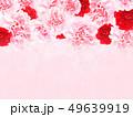 背景-バラ-カーネーション-ピンク-母の日 49639919