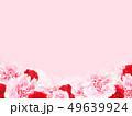 背景-バラ-カーネーション-ピンク-母の日 49639924