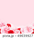 背景-バラ-カーネーション-ピンク-母の日 49639927