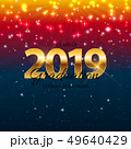 Class of 2019  Graduarion Education Background. Vector Illustration 49640429