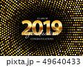 Class of 2019  Graduarion Education Background. Vector Illustration 49640433