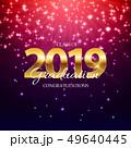 Class of 2019  Graduarion Education Background. Vector Illustration 49640445
