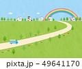 背景素材-家ある風景 49641170