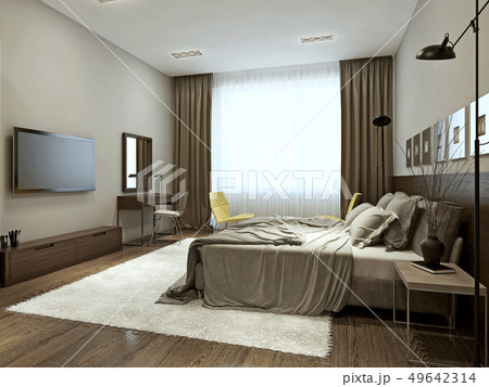 Bedroom contemporary style 49642314