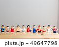 スポーツ競技 人形 49647798