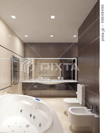 Bathroom avant-garde style 49648490