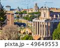 Roman Forum in sunny day, Rome, Italy 49649553