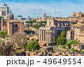 Roman Forum in sunny day, Rome, Italy 49649554