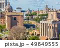 Roman Forum in sunny day, Rome, Italy 49649555