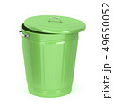 Green trash can 49650052