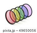 Colorful photographic filters 49650056