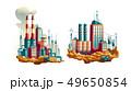 Power plant or station cartoon vector illustration 49650854