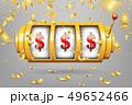 スロット マシーン カジノのイラスト 49652466