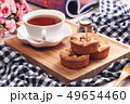 お茶 ケーキ クッキーの写真 49654460