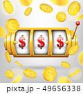 スロット マシーン カジノのイラスト 49656338
