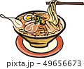 ベクター 食べ物 ラーメンのイラスト 49656673