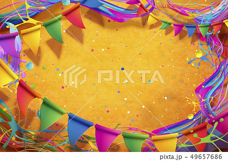 Happy Holi festival design 49657686