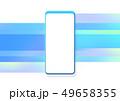 スマートフォン スマホ モバイルのイラスト 49658355